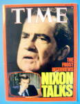 Click to view larger image of Time Magazine- May 9, 1977- Nixon Talks (Image1)