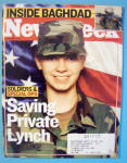 Click to view larger image of Newsweek Magazine-April 14, 2003-Saving Private Lynch (Image1)