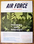 Click here to enlarge image and see more about item 15250: Air Force Magazine February 1960 Highest & Fastest