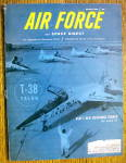 Click here to enlarge image and see more about item 15251: Air Force Magazine March 1961 USAF's Supersonic Trainer
