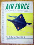 Click here to enlarge image and see more about item 15252: Air Force Magazine March 1955 Red Fighters Stack Up