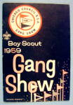 Click here to enlarge image and see more about item 15322: Boy Scout Gang Show Souvenir Program 1959