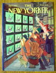 The New Yorker Magazine February 1, 1993 Audrey Hepburn