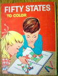 Click to view larger image of Fifty States To Color 1960 (Treasure Coloring Book) (Image2)