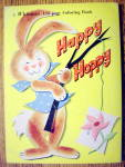 Click to view larger image of Happy Hoppy Coloring Book (Whitman Coloring Book) (Image2)