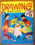 Click here to enlarge image and see more about item 15399: Drawing Made Easy 1960 For Children Ages 7-12