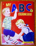 Click here to enlarge image and see more about item 15406: My ABC Coloring Book 1957 (Treasure Books)