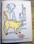 Click to view larger image of Animal World Coloring Book 1977 (Cut Out On Back Cover) (Image6)