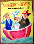 Nursery Rhymes Coloring Book 1959 (Treasure Books)