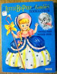 Click here to enlarge image and see more about item 15413: Little Bo Peep And Lambie's Book To Color 1960's