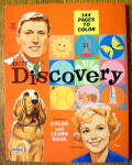 Click here to enlarge image and see more about item 15418: Discovery Color And Learn Book 1963 (ABC-TV)