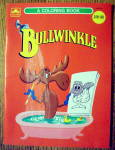 Click here to enlarge image and see more about item 15419: Bullwinkle Coloring Book 1960 (Rocky)