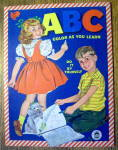 Click here to enlarge image and see more about item 15430: ABC Color As You Learn Do It By Yourself 1959