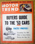 Click to view larger image of Motor Trend Magazine April 1953 Death Of An Aristocrat (Image2)
