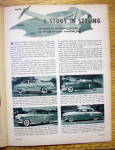 Click to view larger image of Motor Trend Magazine April 1953 Death Of An Aristocrat (Image4)
