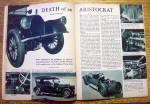 Click to view larger image of Motor Trend Magazine April 1953 Death Of An Aristocrat (Image7)