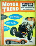 Motor Trend Magazine October 1954 X Ray Sports Car