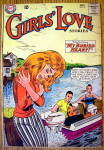 Click here to enlarge image and see more about item 15650: Girls Love Stories Comic #99 November 1963 Buried Heart