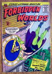 Forbidden Worlds Comic #134 March-April 1966