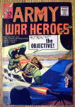 Click here to enlarge image and see more about item 15705: Army War Heroes Comic #2 February 1964 The Objective