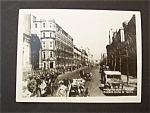 Click here to enlarge image and see more about item 1577: Vintage Photo -  WW II Maru-No-Uchi Street, Tokyo