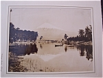 Click here to enlarge image and see more about item 1580: 1946 Mount Fuji in Summer Time Photograph