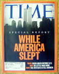 Click to view larger image of Time Magazine May 27, 2002 While America Slept (Image1)