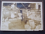 Click here to enlarge image and see more about item 1582: Vintage Photo - Turn of the Century Grocery Store