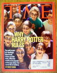 Click to view larger image of Time Magazine June 23, 2003 Why Harry Potter Rules (Image1)