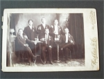 Click here to enlarge image and see more about item 1586: Vintage Photo - Turn of the Century Miller Drinkers