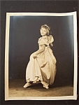 """Click here to enlarge image and see more about item 1587: Vintage Photo - 1930's """" I Wanna Be A Star"""""""
