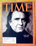 Click to view larger image of Time Magazine September 22, 2003 Johnny Cash (Image1)
