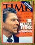 Click to view larger image of Time Magazine September 29, 2003 The Reagan Letters (Image1)