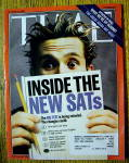 Click to view larger image of Time Magazine October 27, 2003 Inside The New SAT's (Image1)