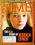 Click to view larger image of Time Magazine November 17, 2003 Story Of Jessica Lynch (Image1)