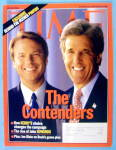 Click to view larger image of Time Magazine July 19, 2004 The Contenders (Image1)