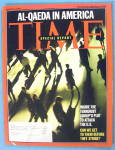 Click to view larger image of Time Magazine August 16, 2004 Al-Qaeda In America (Image1)
