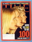 Click to view larger image of Time Magazine August 30, 2004 How To Live To Be 100 (Image1)