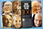 Click to view larger image of Time Magazine August 30, 2004 How To Live To Be 100 (Image7)