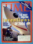 Click to view larger image of Time Magazine November 29, 2004 Inventions of 2004 (Image1)
