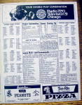 Click to view larger image of Chicago Cubs vs. Montreal Expos Scorecard April 1974 (Image6)