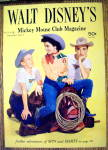 Click here to enlarge image and see more about item 15952: Walt Disney's Mickey Mouse Club Magazine Cover 1957