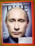 Click to view larger image of Time Magazine December 31, 2007-January 7, 2008 Putin (Image1)