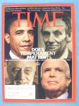 Click to view larger image of Time Magazine October 27, 2008 Does Temperament Matter? (Image1)