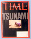 Click to view larger image of Time Magazine January 10, 2005 Tsunami (Image1)