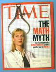 Click to view larger image of Time Magazine March 7, 2005 The Math Myth (Image1)