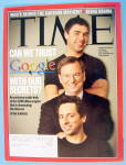 Click to view larger image of Time Magazine February 20, 2006 Can We Trust Google (Image1)