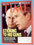 Click to view larger image of Time Magazine February 27, 2006 Sticking To His Guns (Image1)