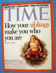 Click to view larger image of Time Magazine July 10, 2006 Siblings (Image1)