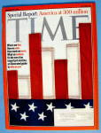 Time Magazine October 30, 2006 America At 300 Million